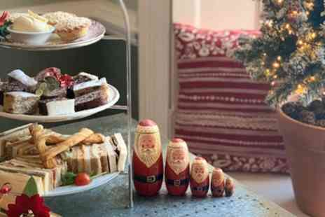 Kenward Trust - Festive Afternoon Tea for Up to Four - Save 40%