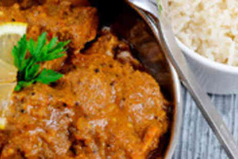 Southern Spice - Indian lunch including main course, rice, chapatti and soft drink - Save 63%
