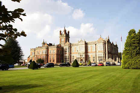 Crewe Hall - Winter warmer spa day for one with two treatments, leisure access, hot drink and Danish pastry - Save 56%
