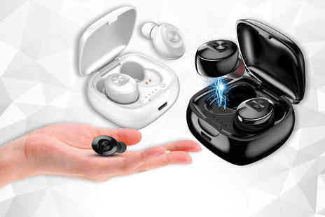 Spezzeee - Pair of wireless Bluetooth earbuds - Save 78%