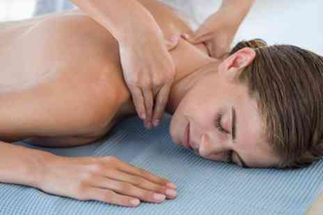 aUK Stamford - 30 or 60 Minute Back Massage - Save 47%