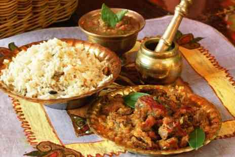 Bharat Restaurant - Two Course Indian Meal for Up to Four - Save 57%