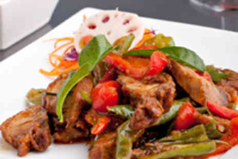 Thai Orchid - Two Course Thai Meal for Two with Wine - Save 53%