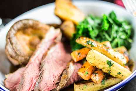 The Feathers Hotel - Three course Sunday lunch for Two - Save 44%