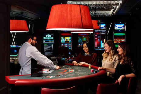 Century Casino Bath - Bottle of Prosecco, two £5 playing chips and nachos to share between two - Save 57%