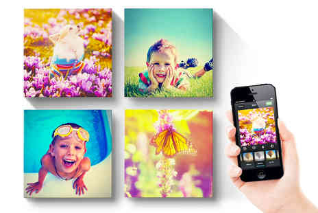 Printerpix - Set of Instagram Canvases buy up to five - Save 69%