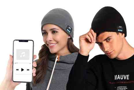Magic Trend - Bluetooth music beanie choose your colour - Save 78%