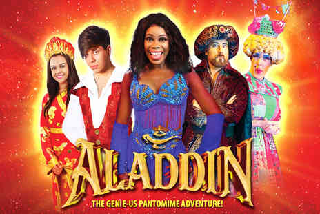 Castleford Panto - Child, adult or family ticket to see Aladdin live - Save 47%