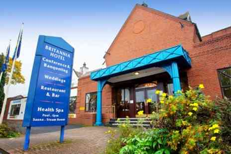 Britannia Hotel Stockport - Stay for Two with Breakfast and Option for Dinner and Wine - Save 0%