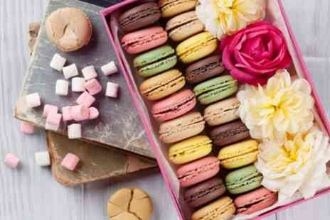 Patisserie La Reine - One or Two Boxes of Eight Macaroons - Save 23%