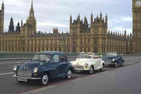 Classic City Tours - Private Tour London City Tour in a Vintage Car with Optional Champagne - Save 0%