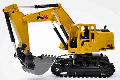 Secret Plums - Remote Control Digger Toy - Save 60%