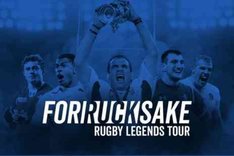 Rugby Legends Tour - Standard or VIP Ticket from 14th November To 31st January - Save 33%