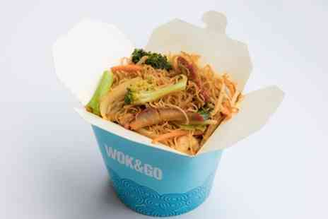 Wok And Go, High Wycombe - Create Your Own Noodle or Rice Box for One or Two - Save 34%