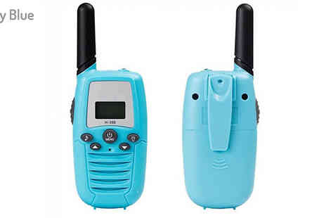 Secret Plums - Set of 2 Kids T388 Walkie Talkies Choose from 8 Colours - Save 40%