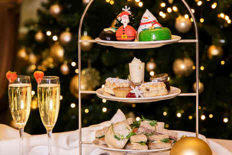 Millennium Hotel - Festive afternoon tea for two Glass of Prosecco each - Save 50%