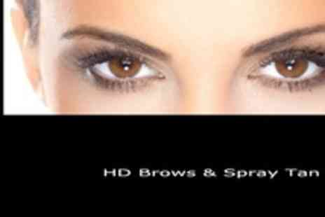 Sunkissed Tans - Popular Celebrity HD Brows plus Spray Tan - Save 60%