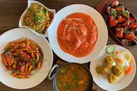 IK Indian Kitchen - Two Course Indian Meal with Choice of Rice or Naan for Up to Four - Save 46%