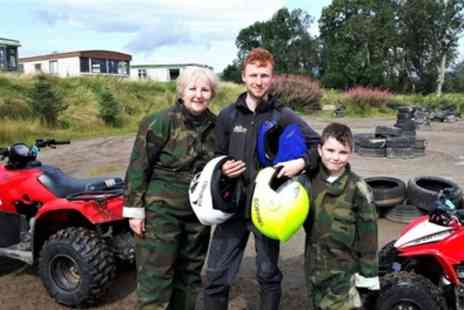 Action Adventure Activities - Mini Quad Session or Standard Quad Session for Up to Four  - Save 38%