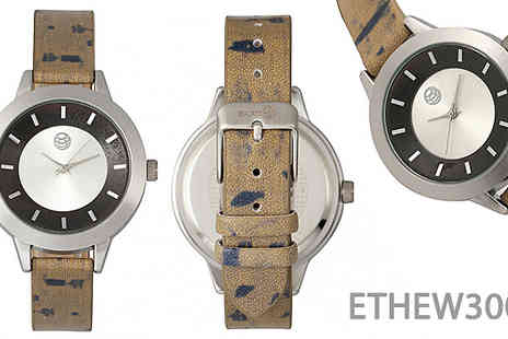 Ideal Deal - Earth Wood Autumn Watch Choose from 2 Colours - Save 77%