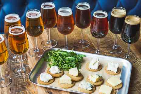 BrewDog - Beer tasting for Two including cheese - Save 50%
