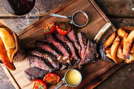 The White Horse - 20oz rib of beef to share with wine - Save 34%