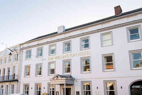 The Wellington Hotel - Two nights Brecon break for two people with breakfast and 10% discount on dining - Save 59%