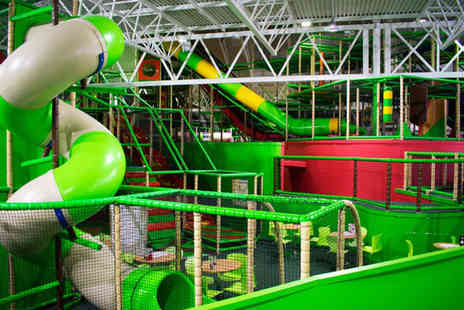 Wonder World Soft Play - Single soft play session and kids meal for one child - Save 26%
