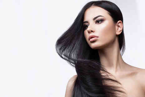 Bombshell Hair Extensions - Full head of 18 Inch Indian Remy micro weave extensions, a trim and style and a glass of bubbly - Save 56%
