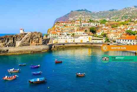 Crystal Travel - Two nights Madeira holiday with breakfast and return flights - Save 31%