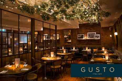 Gusto Italian - Two or Three Courses with Optional Prosecco for Two - Save 0%