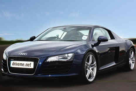 driveme - Three Lap Audi R8 driving experience - Save 71%