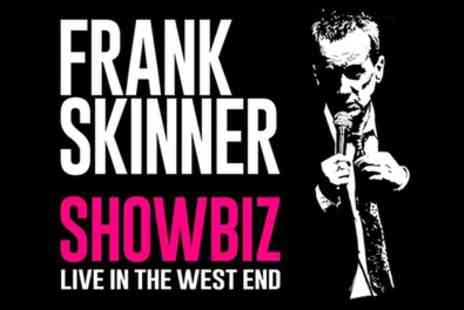 Garrick Theatre - Tickets to see Frank Skinner Showbiz - Save 0%