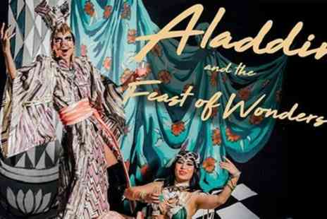 The Vaults - One or two general admission tickets to see Aladdin and the Feast of Wonders from 3rd November 2019 To 15th January 2020 - Save 38%