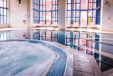 Crowne Plaza Leeds - Spa Day with Two Treatments, Prosecco and Spa Access - Save 26%