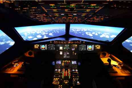 Virgin Experience Days - 60 minute Airbus A320 Flight Simulator - Save 0%