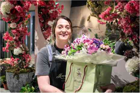 Prestigious London Florist - Flower Arranging and Free Flowing Prosecco for Two - Save 0%