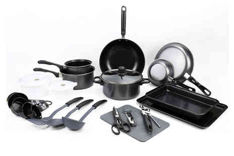 Eurotrade - 21 piece kitchen utensil and cookware starter kit - Save 59%