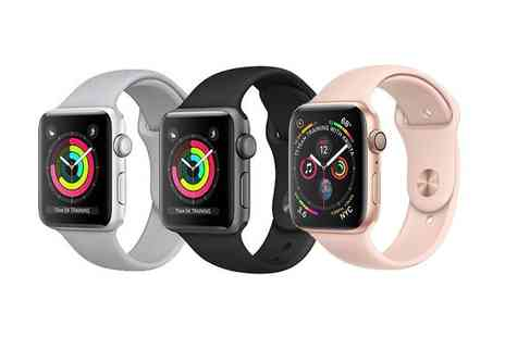 Renew Electronics - Refurbished 38mm or 42mm Apple Watch Series 3 choose from three colours - Save 36%