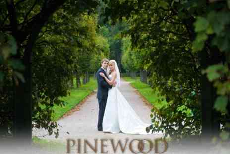Pinewood Hotel - Wedding Package For 50 Guests With Ceremony, Dinner And Reception - Save 62%