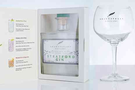 Shakespeare Distillery - Gin gift sets including mini bottles, glass and more - Save 14%