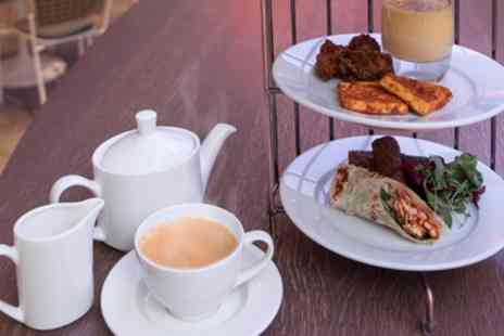 Novotel London Heathrow - Indian Afternoon Tea with Optional Prosecco for Two or Four - Save 47%