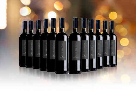 Q Regalo - 12 bottles of O.D. Ribera Del Guadiana 'Seilon' tempranillo red wine - Save 0%