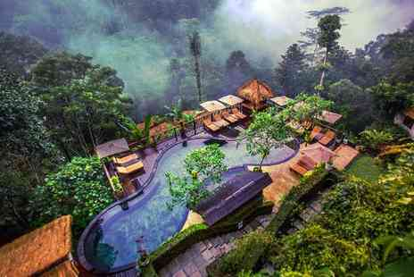 Nandini Jungle Resort and Spa Bali - Four Star Captivating Rainforest Hideaway and Optional Singapore Stay - Save 14%