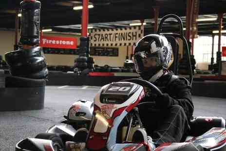 TeamKarting - 20 minute session of go karting with unlimited laps for one - Save 37%