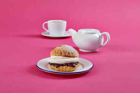 debenhams - Cup of tea and a cream scone each for two people - Save 62%
