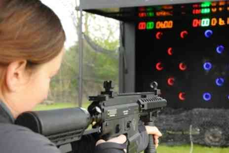 RAPTOR - Paintball Rifle Shooting Range - Save 95%