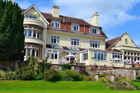 Northfield Hotel - Somerset seaside getaway with dinner - Save 0%