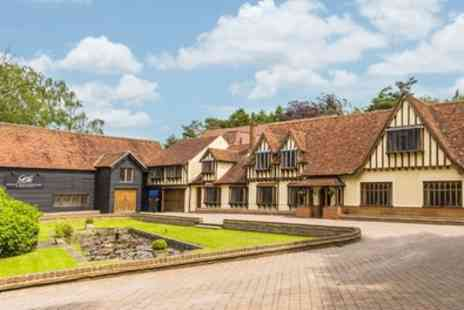 Great Hallingbury Manor - Double Room for Two with Breakfast and Three Course Dinner - Save 40%