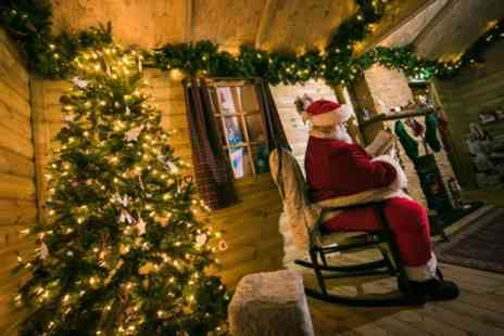 Chill Factore - Choice of Santas Grotto Christmas Adventure for One Adult and One Child - Save 18%